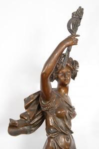 Estatua de Bronce
