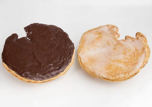 Palmeras de Yema o Chocolate